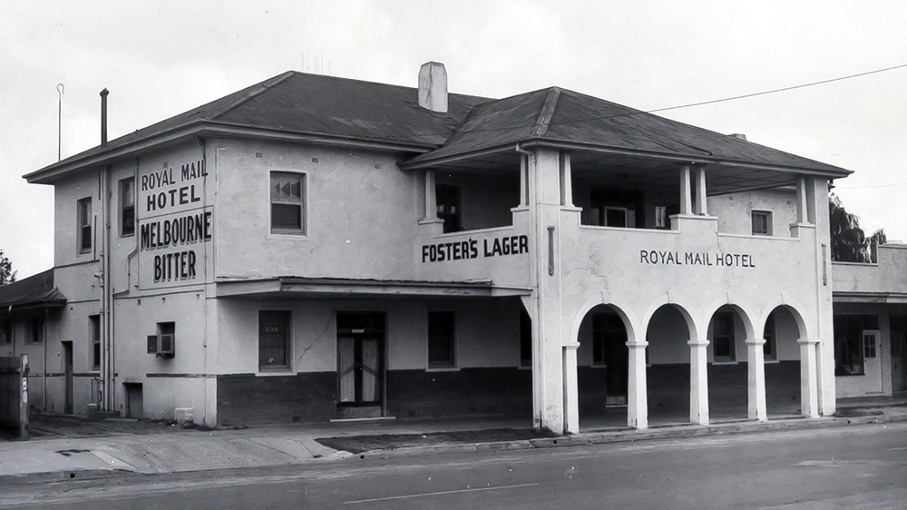 Royal Mail Hotel, Jeriderie