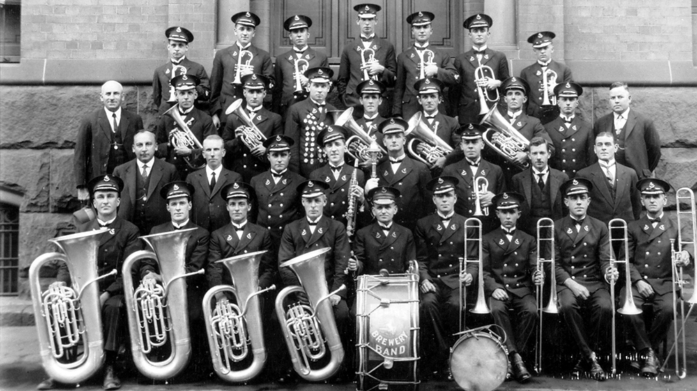 Tooth's Brewery Band circa 1929